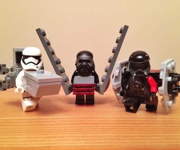 LEGO Star Wars Minifigs in Ship Costumes: A New KanColle