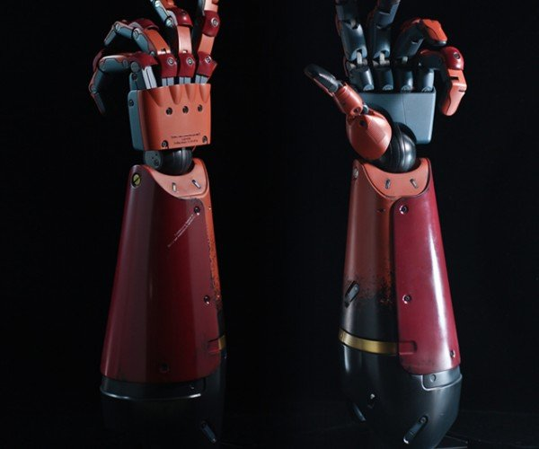 Life-size Metal Gear Solid V Venom Snake Bionic Arm Will Punish Your Wallet