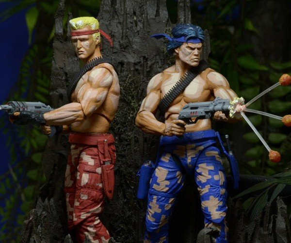 NECA Contra Bill & Lance Action Figures Will Have You Jumping Up, Up, Down, Down