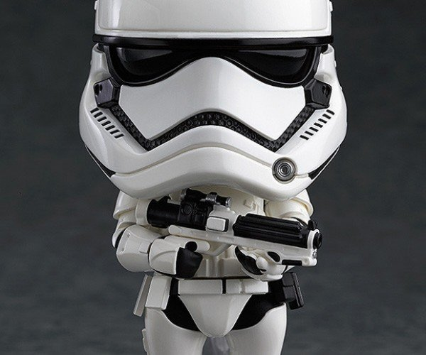 First Order Stormtrooper Nendoroid is FN Tiny