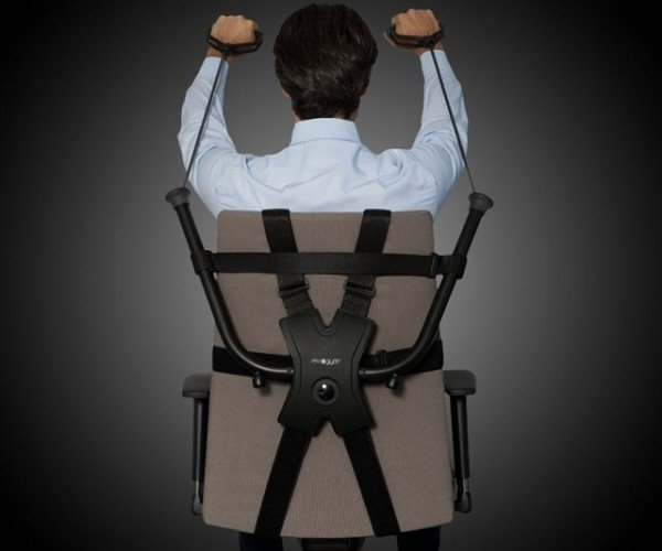 Work out at Your Desk with the Office Gym