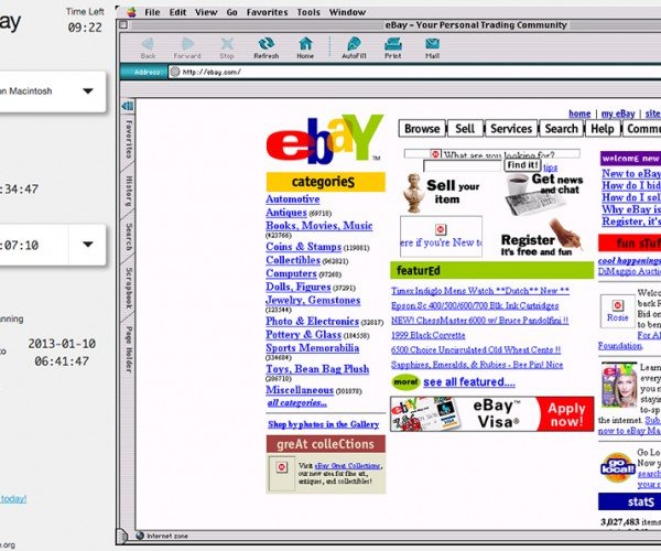 Surf Old Web Pages on Emulated Old Browsers: OldWeb.today