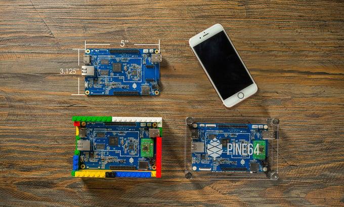 Pine A64 $15 64-bit Computer: Prosumer SBC