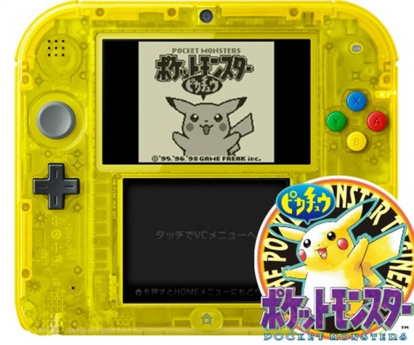 Pokémon Themed Nintendo 2DS Headed for Japan