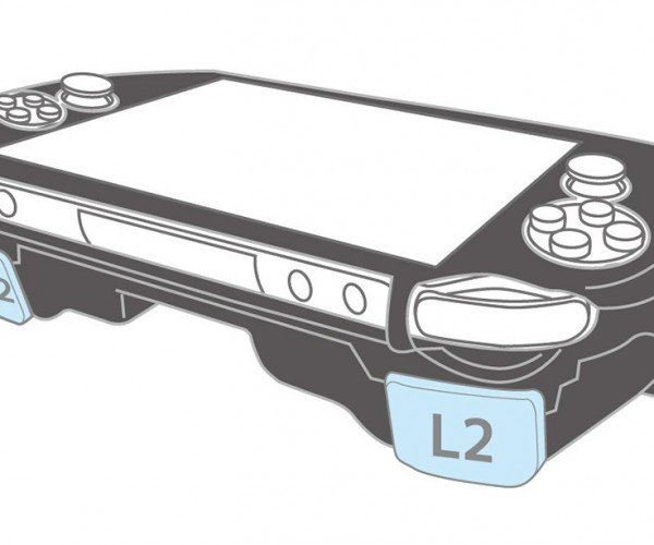 PS Vita Case with L2 R2 Triggers for the Original OLED Model: Aw Yiss