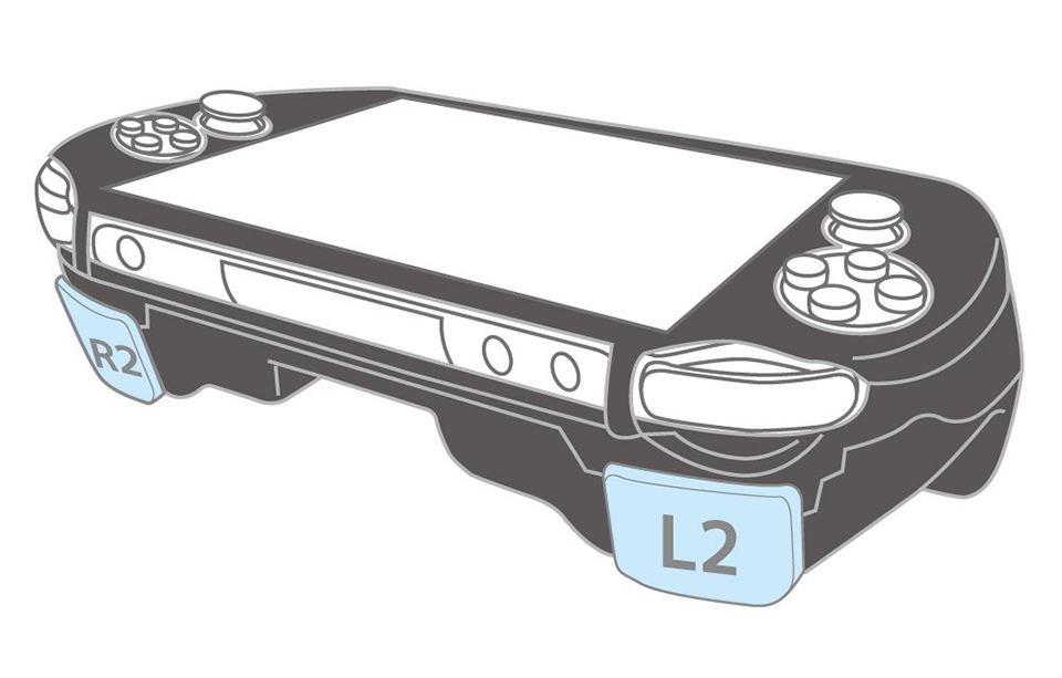 PS Vita Case with L2 R2 Triggers for the Original OLED Model