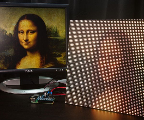 DIY Raspberry Pi LED Matrix Display: PiXels