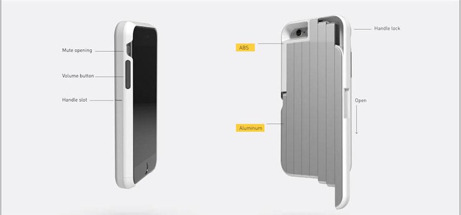 stikbox selfie stick iphone case is selfie af. Black Bedroom Furniture Sets. Home Design Ideas