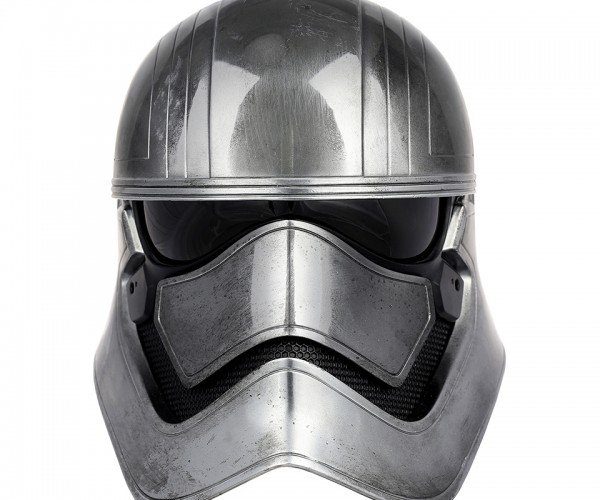 Anovos Captain Phasma Life-size Helmet: Chrome Dome
