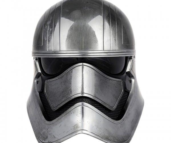 Anovos Captain Phasma Life-size Helmet: Chrome Dome
