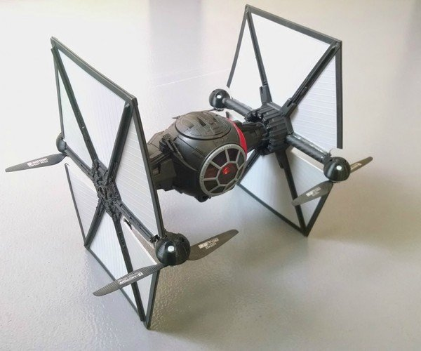 DIY Star Wars First Order TIE Fighter Toy Quadcopter Mod: The Babies Awaken