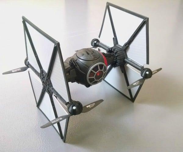 DIY Star Wars First Order TIE Fighter Toy Quadcopter Mod: The Babies Awaken