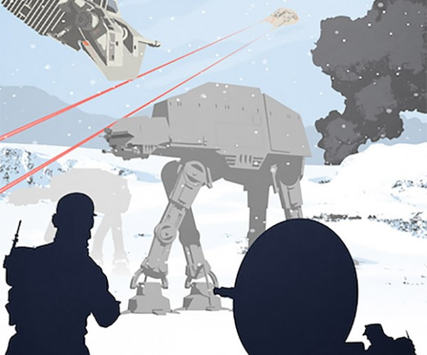 Deal: Save 23% on this Star Wars Snowy Walker Attack Poster