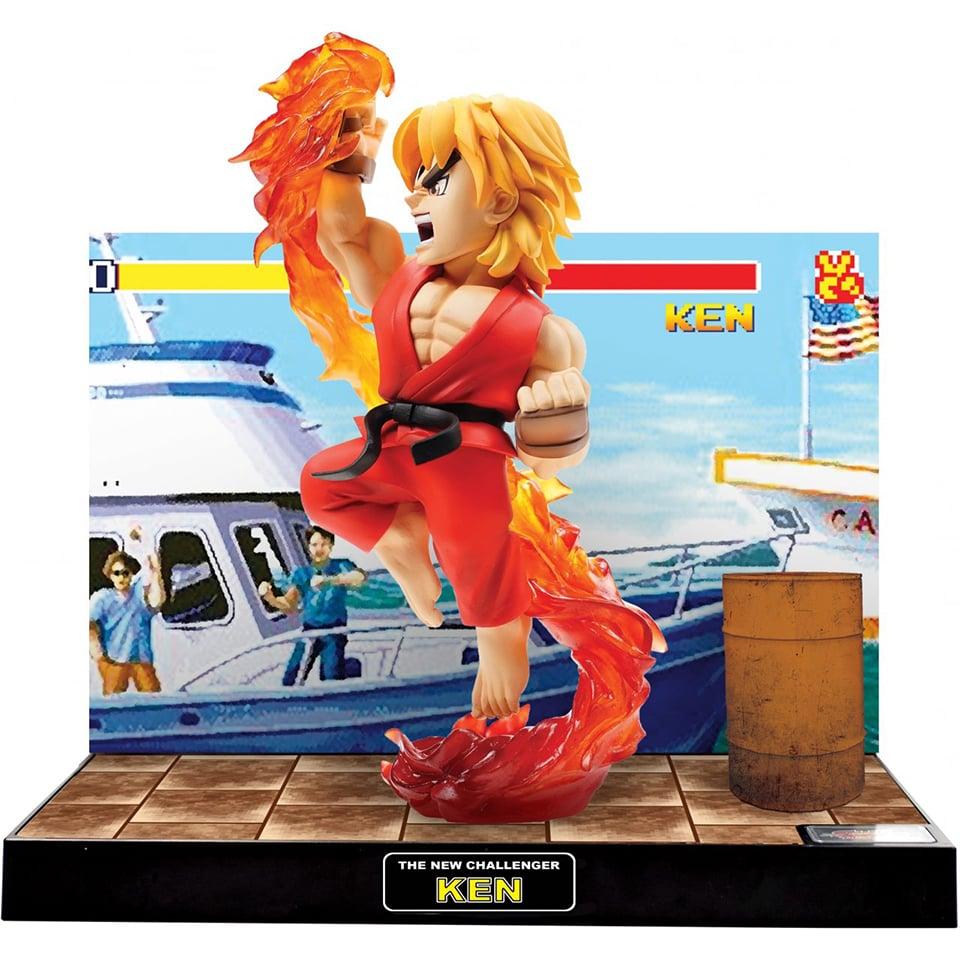 Street Fighter The New Challenger Ken & Chun-Li Light Up Figures: LP+LK - Technabob