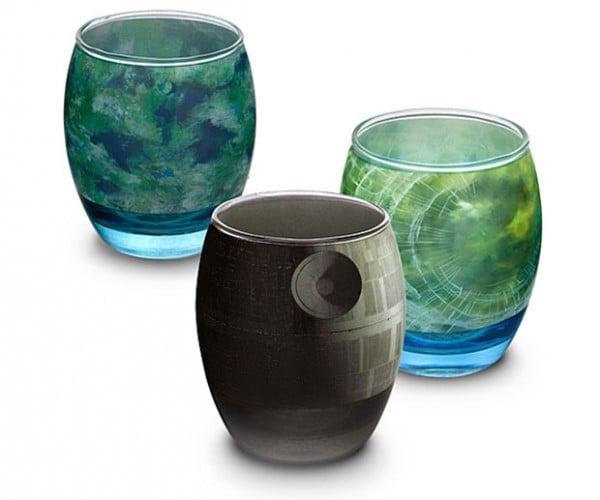 Star Wars Planetary Glassware Set: That's No Tumbler!