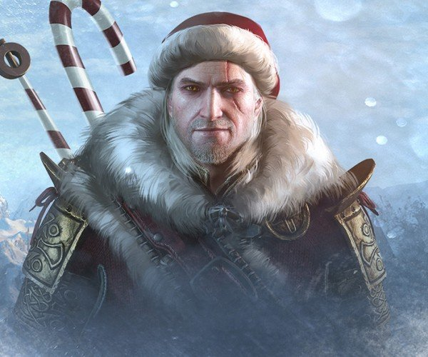 The Witcher 3 Holiday Outfit Mod Contest: Reindeer School Gear