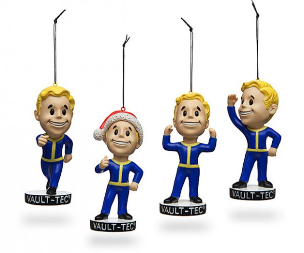Fallout 4 Vault Boy Christmas Ornaments Can't be Scrapped
