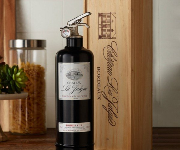 Wine Bottle Fire Extinguisher: In Case of Wine of Fire
