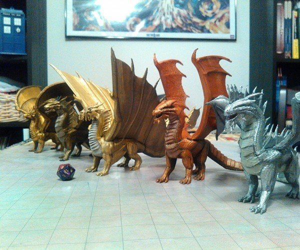 Fan-made Dungeons & Dragons 3D Models: Monster Compendddium