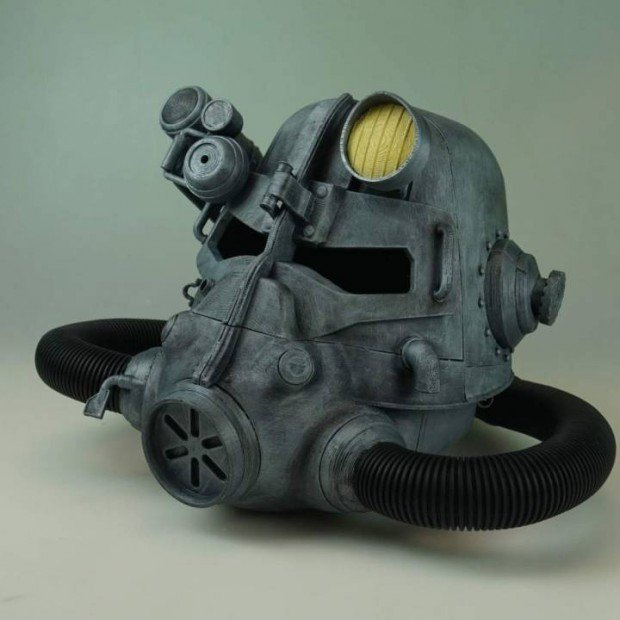 3d Printed Fallout Power Armor Helmet Science Technabob