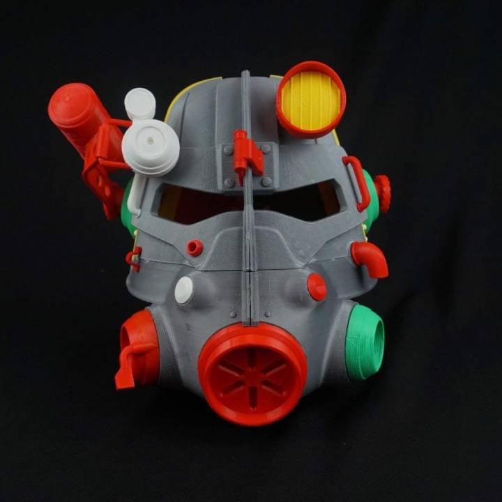3d Printed Fallout Power Armor Helmet Science Technabob
