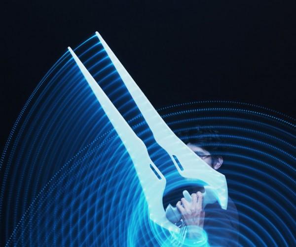 DIY 3D Printed Light-up Halo Energy Sword: Slice & Solder