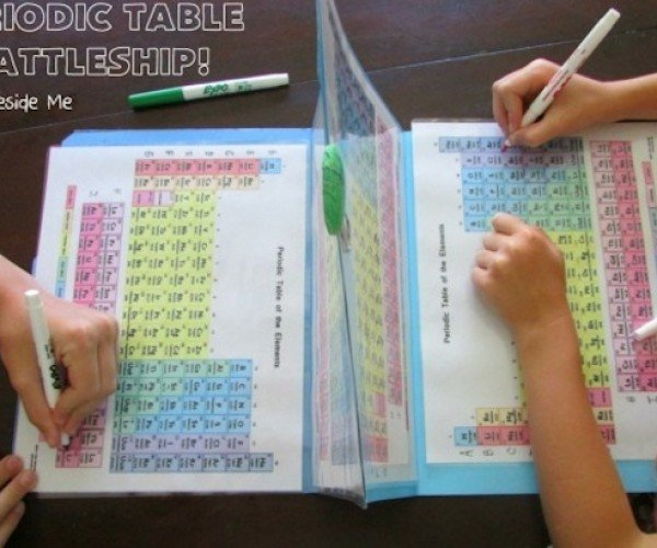 Periodic Table Battleship: You Sank My Beryllium!