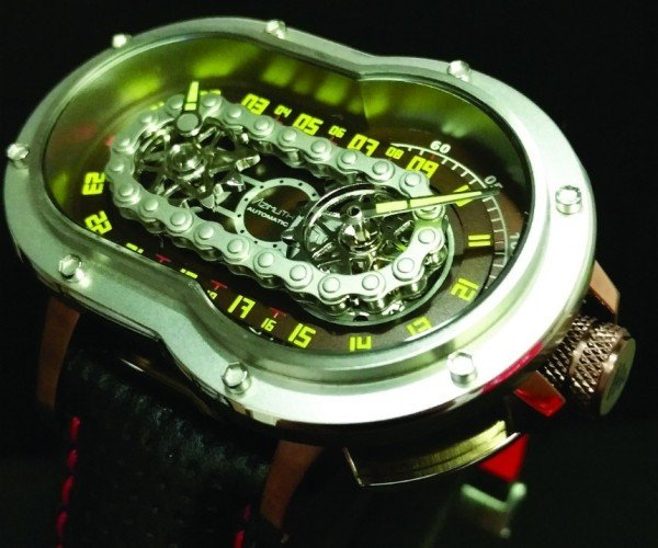 Azimuth SP-1 Crazy Rider Watch: Born to be Dialed