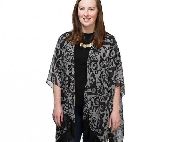 Darth Vader Kimono Cardigan: The Subtle Side of the Force