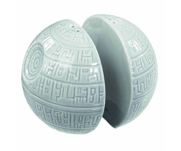 Death Star Salt & Pepper Shakers: They're No Half Moons