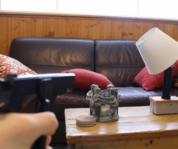 DIY Gun Controlled Lamp: Lights Out