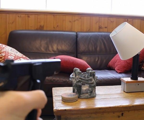 DIY Gun Controlled Lamp: Lights Out