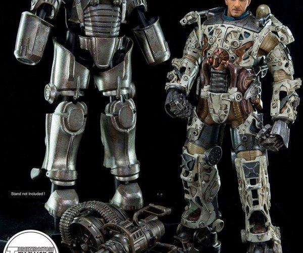 Fallout 4 T-45 Power Armor Action Figure Wants to Establish a Settlement on Your Shelf