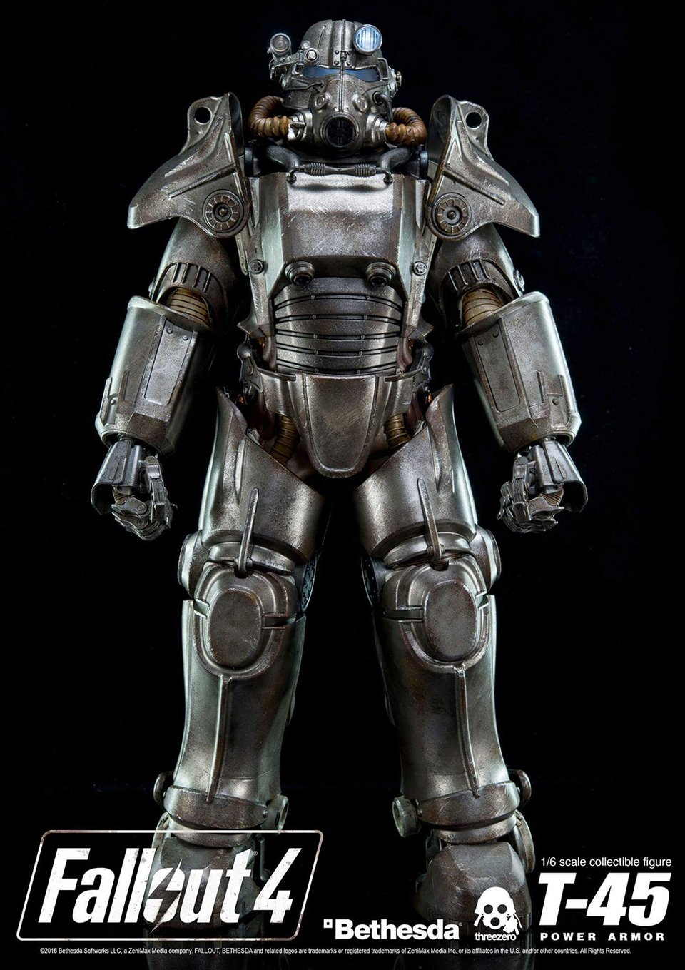 Fallout 4 T-45 Power Armor Action Figure Wants to ...