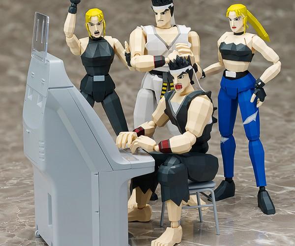 Figma Virtua Fighter Akira & Sarah: Attack the Block