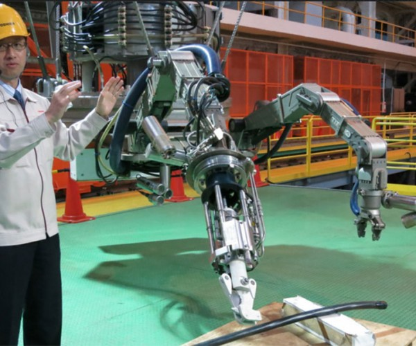 Toshiba Robot to Help Clean up Fukushima