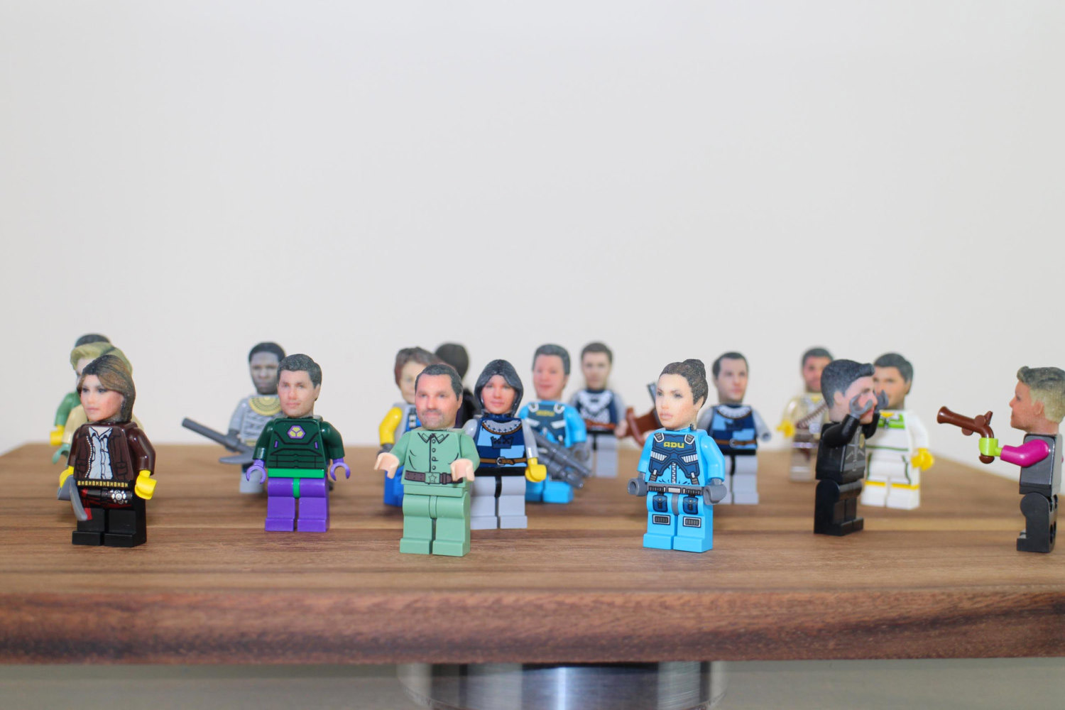 Etsy shop offers realistic, custom 3D printed Lego heads