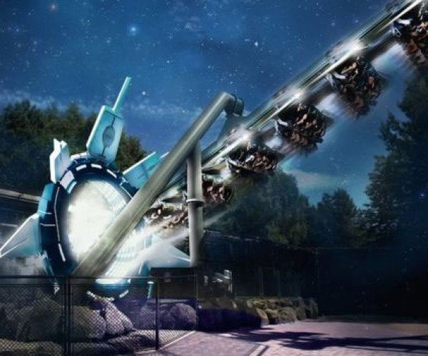 Galactica Roller Coaster Melds VR with Real Thrills