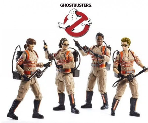 Ghostbusters Action Figure Prototypes Highlight the New Film