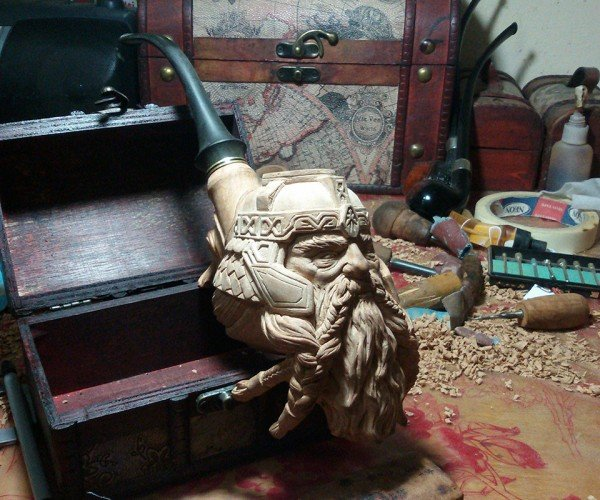 Gimli Smoking Pipe Will Scorch Your Wallet. And Your Axe.