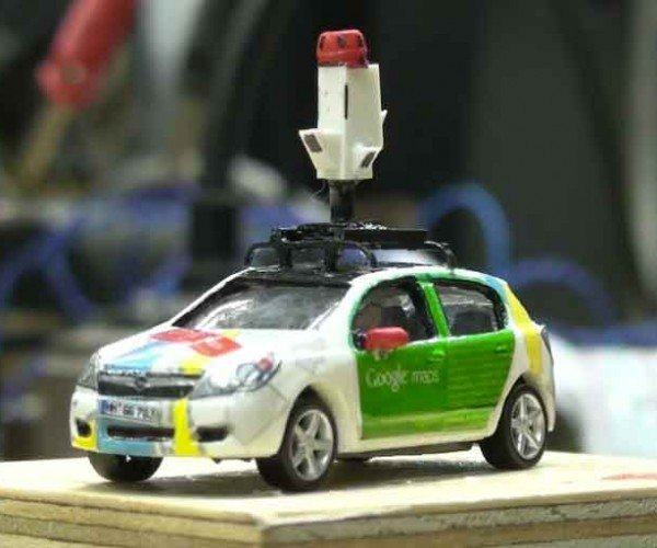 World's Largest Model Railway Captured by Google's Tiniest Street View Vehicles