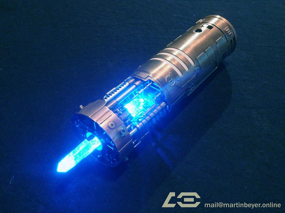 Graflex Saber Hand Made Skywalker Lightsaber Calls To Us