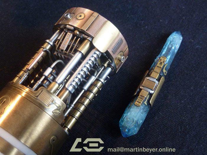 RO-LIGHTSABERS: Keiran Halcyon Lightsaber |Prototype Lightsaber