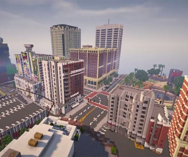 Minecraft Geeks Recreate Los Santos