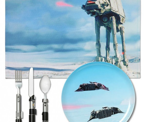 Star Wars Hoth Dinner Set May Get Kids to Eat