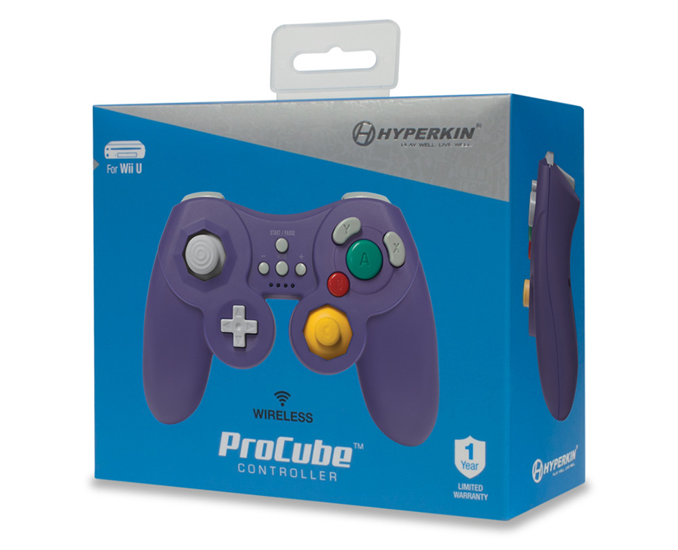 Hyperkin ProCube Wii U Controller Smashes the Need for Wiimotes
