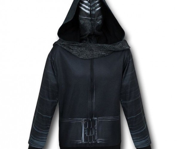 Kylo Ren Costume Hoodie: I Will Finish the Cosplay You Started