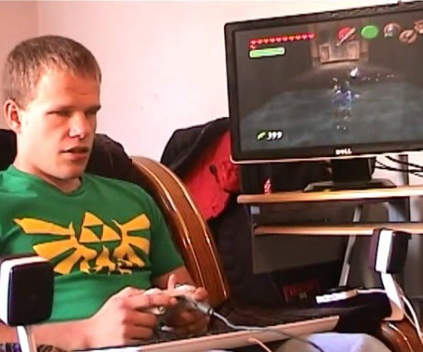 Blind Gamer Beats The Legend of Zelda: Ocarina of Time