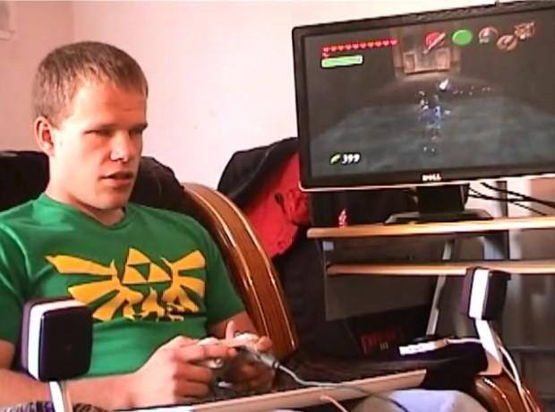 Blind Gamer Beats The Legend of Zelda: Ocarina of Time - Technabob