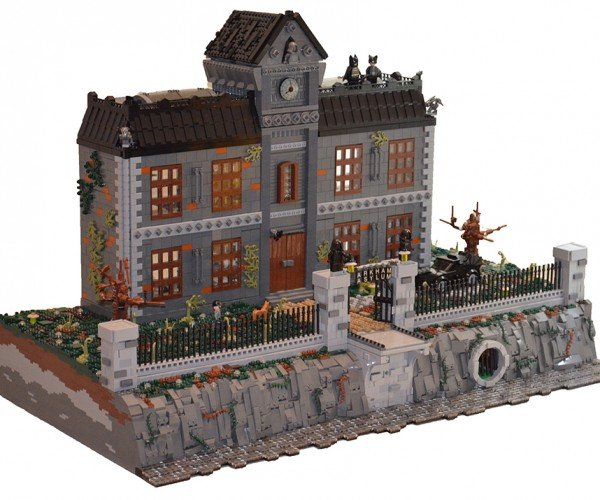 Fan-made LEGO Arkham Asylum: Where's Waylon?